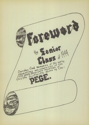 Page 4, 1944 Edition, West Nottingham Academy - Pege Yearbook (Colora, MD) online yearbook collection