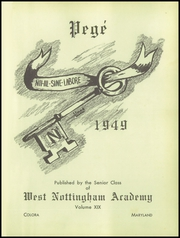 Page 5, 1949 Edition, West Nottingham Academy - Pege Yearbook (Colora, MD) online yearbook collection