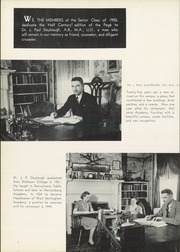 Page 6, 1950 Edition, West Nottingham Academy - Pege Yearbook (Colora, MD) online yearbook collection