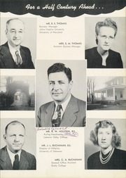Page 7, 1950 Edition, West Nottingham Academy - Pege Yearbook (Colora, MD) online yearbook collection