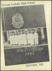 Page 5, 1949 Edition, Towson Catholic High School - Hilltop Yearbook (Towson, MD) online yearbook collection