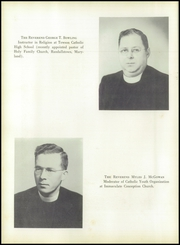 Page 10, 1950 Edition, Towson Catholic High School - Hilltop Yearbook (Towson, MD) online yearbook collection