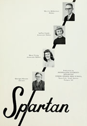 Page 5, 1958 Edition, Spearfish High School - Spartan Yearbook (Spearfish, SD) online yearbook collection