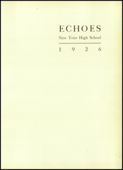 Page 5, 1926 Edition, New Trier Township High School - Echoes Yearbook (Winnetka, IL) online yearbook collection