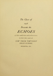 Page 7, 1928 Edition, New Trier Township High School - Echoes Yearbook (Winnetka, IL) online yearbook collection
