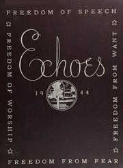 New Trier Township High School - Echoes Yearbook (Winnetka, IL) online yearbook collection, 1944 Edition, Page 1