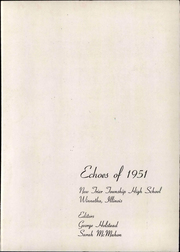 Page 9, 1951 Edition, New Trier Township High School - Echoes Yearbook (Winnetka, IL) online yearbook collection