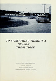 Page 5, 1968 Edition, Rogers High School - Tiger Yearbook (Canton, MS) online yearbook collection