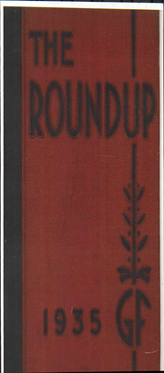 Page 1, 1935 Edition, Great Falls High School - Roundup Yearbook (Great Falls, MT) online yearbook collection