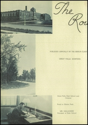 Page 6, 1936 Edition, Great Falls High School - Roundup Yearbook (Great Falls, MT) online yearbook collection