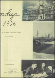 Page 7, 1936 Edition, Great Falls High School - Roundup Yearbook (Great Falls, MT) online yearbook collection