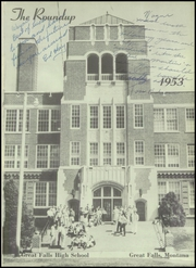 Page 5, 1953 Edition, Great Falls High School - Roundup Yearbook (Great Falls, MT) online yearbook collection