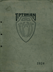 Page 1, 1924 Edition, Tipton High School - Tiptonian Yearbook (Tipton, IN) online yearbook collection