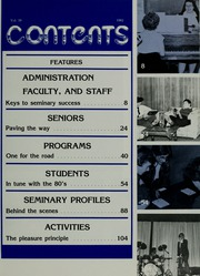 Page 9, 1982 Edition, Our Lady Queen of Angels Seminary - Prep Yearbook (Mission Hills, CA) online yearbook collection