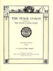 Page 7, 1931 Edition, Saint Marys School - Stage Coach Yearbook (Raleigh, NC) online yearbook collection