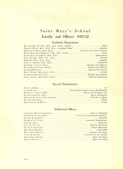 Page 14, 1932 Edition, Saint Marys School - Stage Coach Yearbook (Raleigh, NC) online yearbook collection