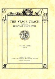 Page 5, 1932 Edition, Saint Marys School - Stage Coach Yearbook (Raleigh, NC) online yearbook collection