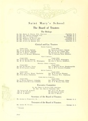 Page 8, 1932 Edition, Saint Marys School - Stage Coach Yearbook (Raleigh, NC) online yearbook collection