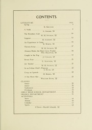 Page 11, 1922 Edition, University School of Milwaukee - Trident Yearbook (Milwaukee, WI) online yearbook collection