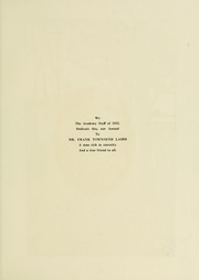 Page 7, 1922 Edition, University School of Milwaukee - Trident Yearbook (Milwaukee, WI) online yearbook collection