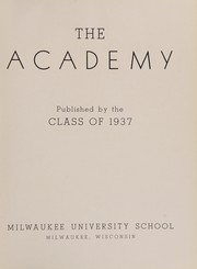 Page 9, 1937 Edition, University School of Milwaukee - Trident Yearbook (Milwaukee, WI) online yearbook collection