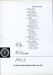 Page 4, 1962 Edition, Packer Collegiate Institute - Pelican Yearbook (Brooklyn, NY) online yearbook collection