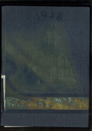 1938 Edition, Waterloo West High School - Wahawk Yearbook (Waterloo, IA)