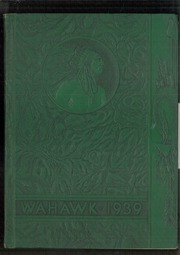 1939 Edition, Waterloo West High School - Wahawk Yearbook (Waterloo, IA)