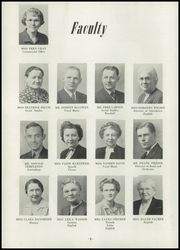 Page 12, 1947 Edition, Waterloo West High School - Wahawk Yearbook (Waterloo, IA) online yearbook collection