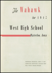 Page 7, 1947 Edition, Waterloo West High School - Wahawk Yearbook (Waterloo, IA) online yearbook collection