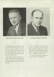 Page 13, 1950 Edition, Waterloo West High School - Wahawk Yearbook (Waterloo, IA) online yearbook collection