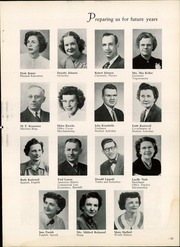 Page 15, 1952 Edition, Waterloo West High School - Wahawk Yearbook (Waterloo, IA) online yearbook collection