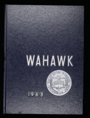 1963 Edition, Waterloo West High School - Wahawk Yearbook (Waterloo, IA)