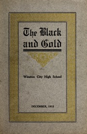 Page 1, 1913 Edition, RJ Reynolds High School - Black and Gold Yearbook (Winston Salem, NC) online yearbook collection