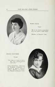 Page 10, 1916 Edition, RJ Reynolds High School - Black and Gold Yearbook (Winston Salem, NC) online yearbook collection