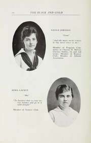 Page 12, 1916 Edition, RJ Reynolds High School - Black and Gold Yearbook (Winston Salem, NC) online yearbook collection