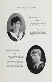 Page 13, 1916 Edition, RJ Reynolds High School - Black and Gold Yearbook (Winston Salem, NC) online yearbook collection