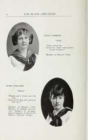 Page 14, 1916 Edition, RJ Reynolds High School - Black and Gold Yearbook (Winston Salem, NC) online yearbook collection