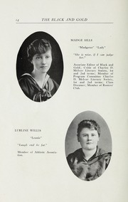 Page 16, 1916 Edition, RJ Reynolds High School - Black and Gold Yearbook (Winston Salem, NC) online yearbook collection