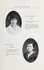 Page 9, 1916 Edition, RJ Reynolds High School - Black and Gold Yearbook (Winston Salem, NC) online yearbook collection