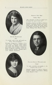 Page 10, 1923 Edition, RJ Reynolds High School - Black and Gold Yearbook (Winston Salem, NC) online yearbook collection