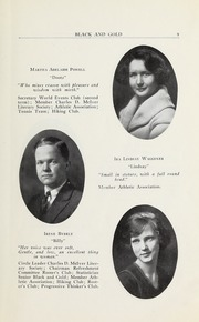 Page 11, 1923 Edition, RJ Reynolds High School - Black and Gold Yearbook (Winston Salem, NC) online yearbook collection