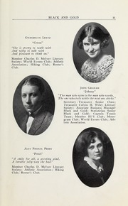 Page 13, 1923 Edition, RJ Reynolds High School - Black and Gold Yearbook (Winston Salem, NC) online yearbook collection