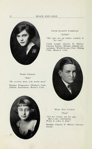 Page 14, 1923 Edition, RJ Reynolds High School - Black and Gold Yearbook (Winston Salem, NC) online yearbook collection