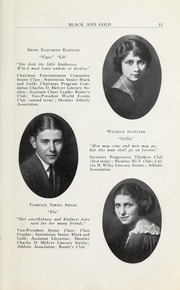 Page 15, 1923 Edition, RJ Reynolds High School - Black and Gold Yearbook (Winston Salem, NC) online yearbook collection