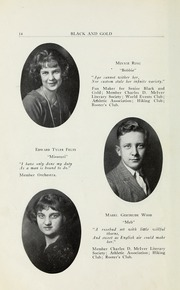 Page 16, 1923 Edition, RJ Reynolds High School - Black and Gold Yearbook (Winston Salem, NC) online yearbook collection