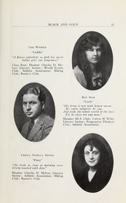 Page 17, 1923 Edition, RJ Reynolds High School - Black and Gold Yearbook (Winston Salem, NC) online yearbook collection