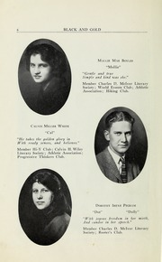 Page 8, 1923 Edition, RJ Reynolds High School - Black and Gold Yearbook (Winston Salem, NC) online yearbook collection