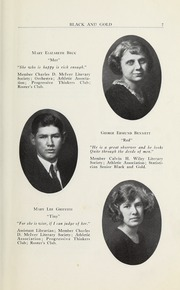 Page 9, 1923 Edition, RJ Reynolds High School - Black and Gold Yearbook (Winston Salem, NC) online yearbook collection
