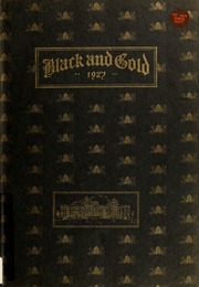 Page 1, 1927 Edition, RJ Reynolds High School - Black and Gold Yearbook (Winston Salem, NC) online yearbook collection